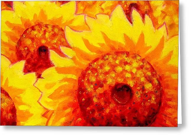 Sunburst Greeting Card by John  Nolan
