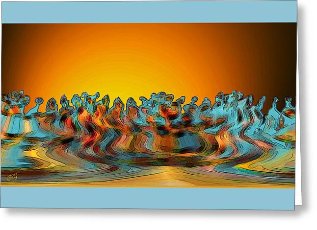 Trance Greeting Cards - Sundance Greeting Card by Ben and Raisa Gertsberg