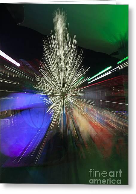Sundance Sparkle Greeting Card by Greg Kopriva