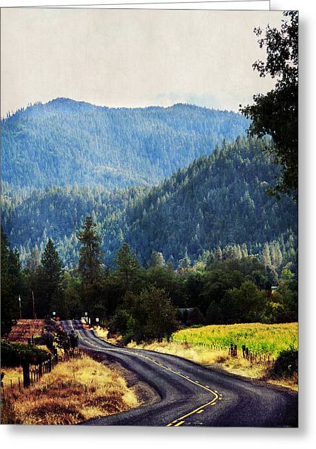 Sunday Drive Greeting Card by Melanie Lankford Photography