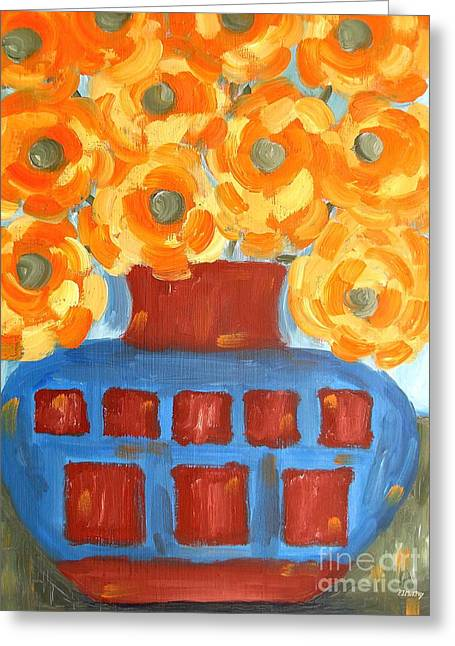 Flower Still Life Prints Greeting Cards - Sunflowers Greeting Card by Patrick J Murphy