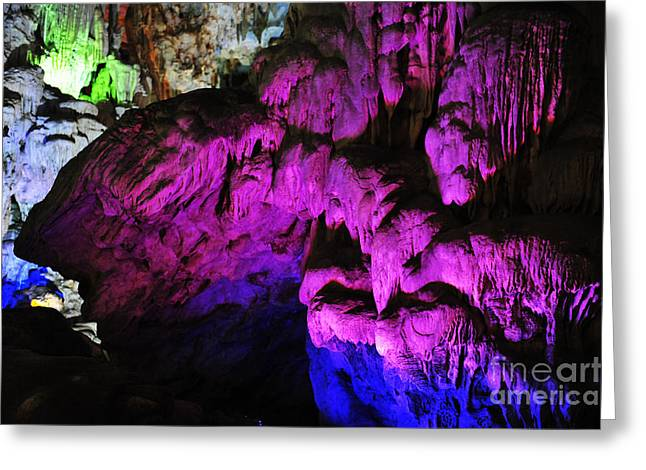 Sot Greeting Cards - Sung Sot Cave Greeting Card by Geir Kristiansen
