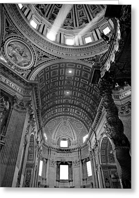 Decorate Greeting Cards - Sunlight in St. Peters Greeting Card by Susan  Schmitz