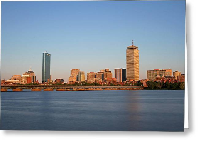 Boston Pictures Greeting Cards - Sunny Boston Greeting Card by Juergen Roth