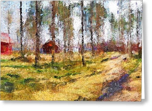 Lithuania Greeting Cards - Sunny day in April Greeting Card by Yury Malkov