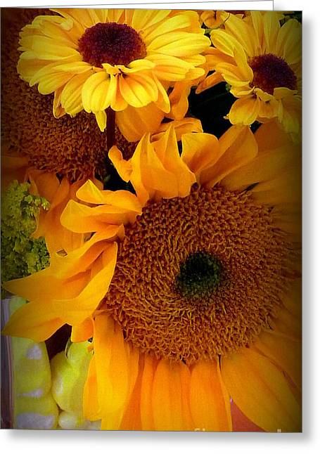 Purchase Greeting Cards - Sunny Easter Bouquet Greeting Card by Susan Garren