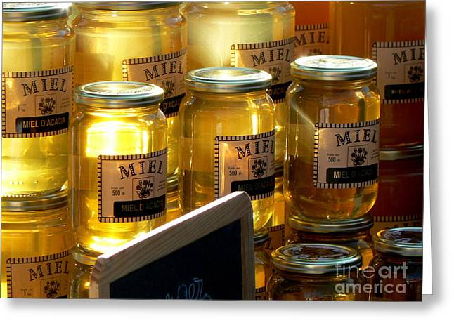 Miel Greeting Cards - Sunny Honey  Greeting Card by France  Art