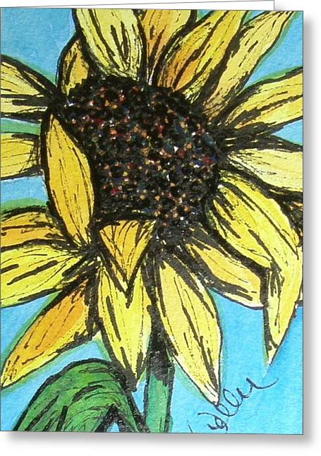 Marcia Weller-wenbert Greeting Cards - Sunny Seeds Greeting Card by Marcia Weller-Wenbert