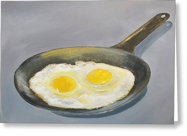 Sunny Side Greeting Card by Ken Ahlering