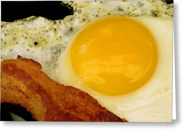 Sunny Side Up Greeting Card by James Temple