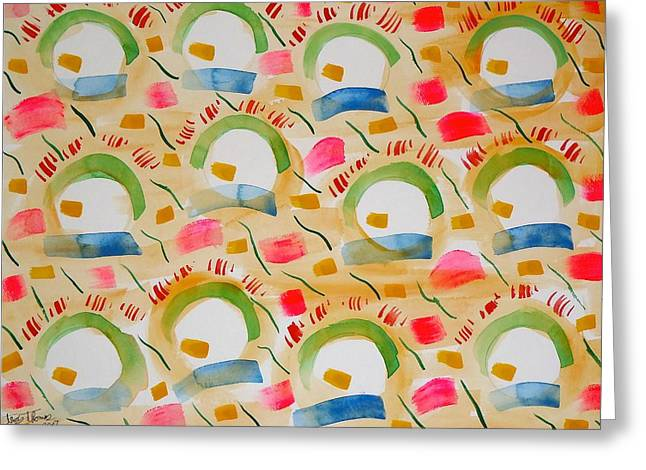 Sunny Side Up Eggs Greeting Cards - Sunny Side Up Greeting Card by Troy Thomas