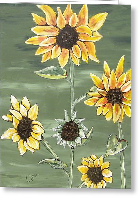 Marcia Weller-wenbert Greeting Cards - Sunny Smile Greeting Card by Marcia Weller