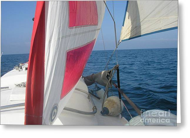 Sunpearl High Seas Greeting Card by Rogerio Mariani