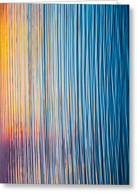 Sunset Abstract Photographs Greeting Cards - Sunrise Abstract #1 Greeting Card by Parker Cunningham