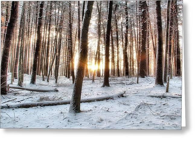 Sunrise Greeting Card by Andrea Galiffi
