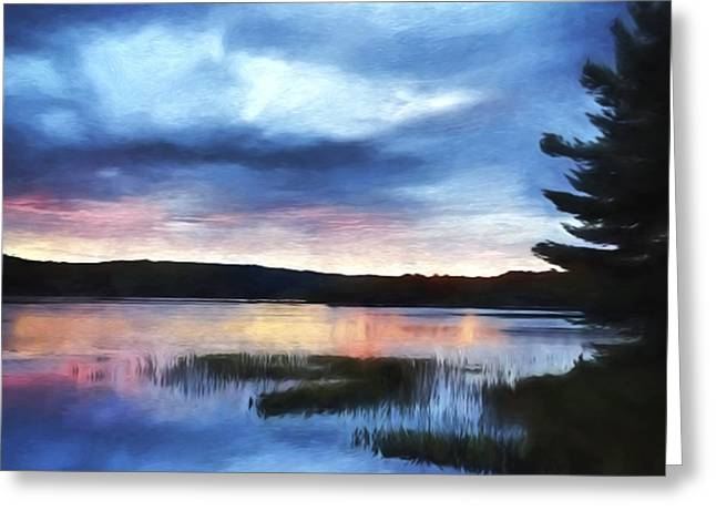 Sunrise Art - New Day Greeting Card by Jordan Blackstone