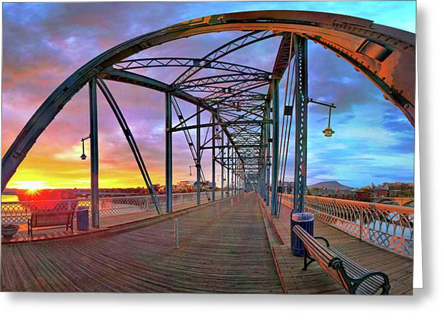 Chattanooga Greeting Cards - Sunrise As I Walk Greeting Card by Steven Llorca