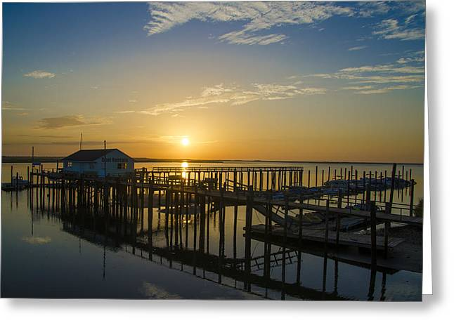 Bill Cannon Greeting Cards - Sunrise at Hereford Inlet - Angelsea New Jersey Greeting Card by Bill Cannon