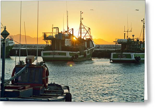 Tom Hudson Greeting Cards - Sunrise at Kak Bay Greeting Card by Tom Hudson