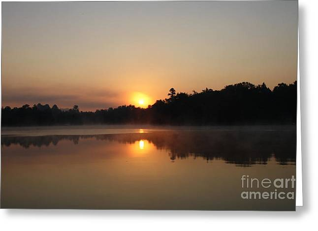 Points Pyrography Greeting Cards - Sunrise at Peggys Point Greeting Card by Steve Knapp