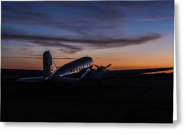 Western Ky Greeting Cards - Sunrise At the Airport Greeting Card by Amber Kresge