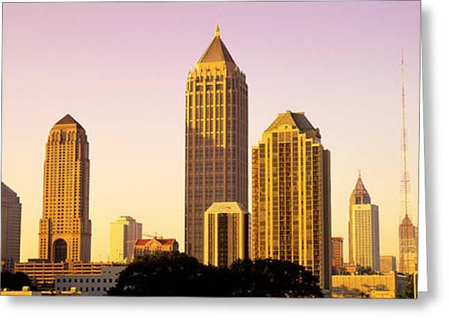 Sunrise, Atlanta, Georgia, Usa Greeting Card by Panoramic Images
