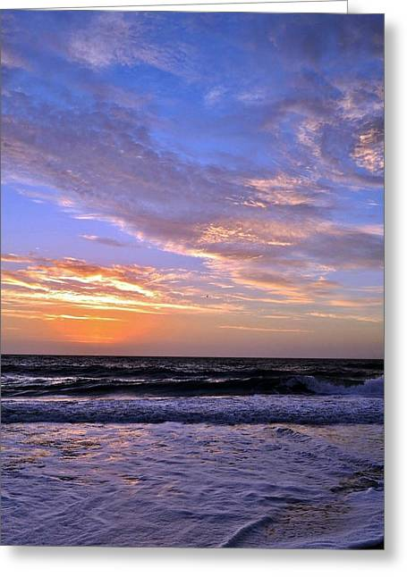 Kim Photographs Greeting Cards - Sunrise Cloudshadows Greeting Card by Kim Bemis