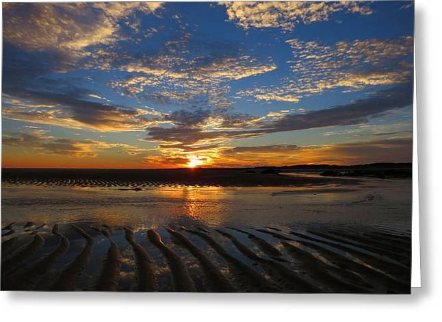 East Dennis Ma Greeting Cards - Sunrise Glory Greeting Card by Dianne Cowen