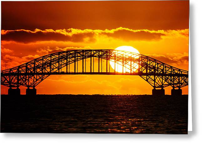 Babylon Greeting Cards - Sunrise Highway Greeting Card by Vicki Jauron