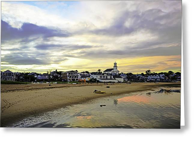 Ptown Greeting Cards - Sunrise in Cape Cod Greeting Card by Art K
