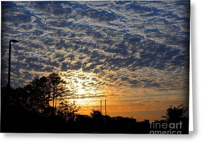 Nashville Tennessee Greeting Cards - Sunrise Greeting Card by Jennifer Pinckney