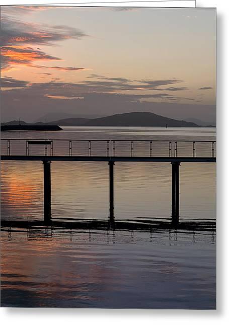 Niel Morley Greeting Cards - Sunrise Greeting Card by Niel Morley