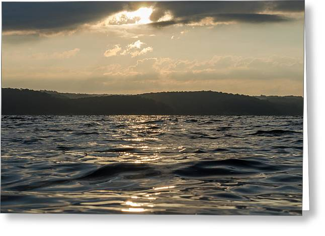 Murray Ky Greeting Cards - Sunrise of Kentucky Lake Greeting Card by Neil Todd
