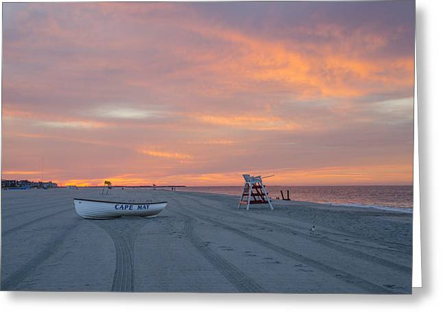 Sunrise On Beach Greeting Cards - Sunrise on the Cape Greeting Card by Bill Cannon