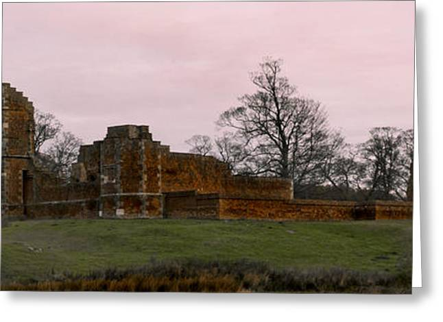 Sunrise Over Bradgate Greeting Card by Linsey Williams