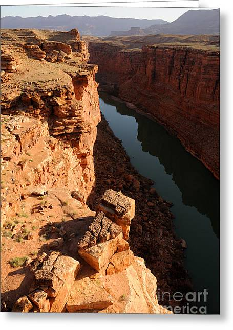 Cliff Lee Greeting Cards - Sunrise over Marble Canyon - Arizona Greeting Card by Gary Whitton