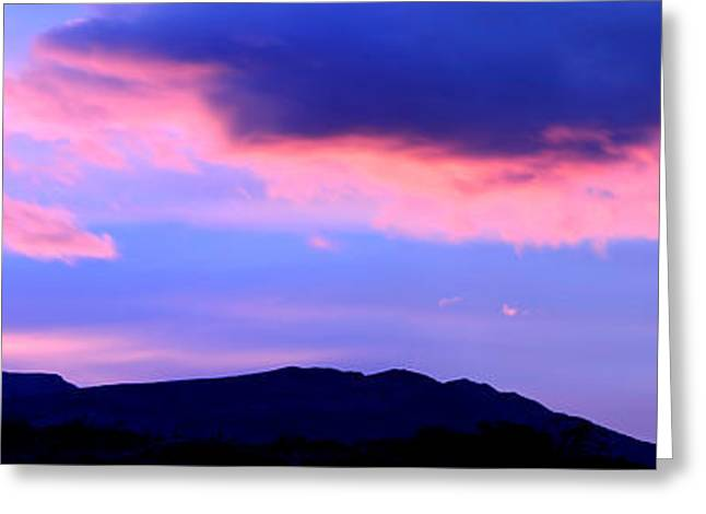 Santa Cruz Greeting Cards - Sunrise Over Mountains, Argentine Greeting Card by Panoramic Images