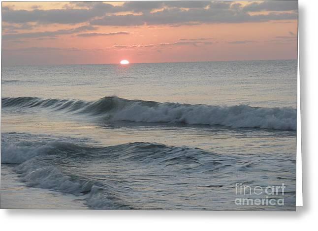 Sunrise Greeting Card by Polly Anna