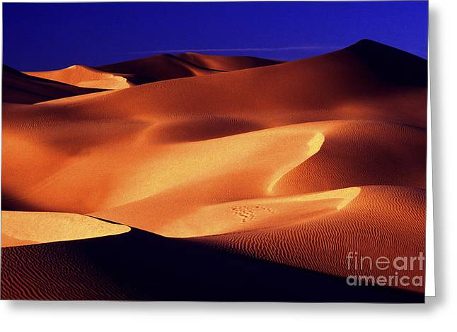 Sand Pattern Greeting Cards - Sunrise shadows Greeting Card by Paul W Faust -  Impressions of Light