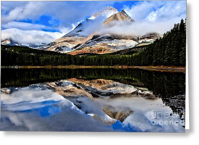 Us National Parks Greeting Cards - Sunrise Surprise Greeting Card by Adam Jewell