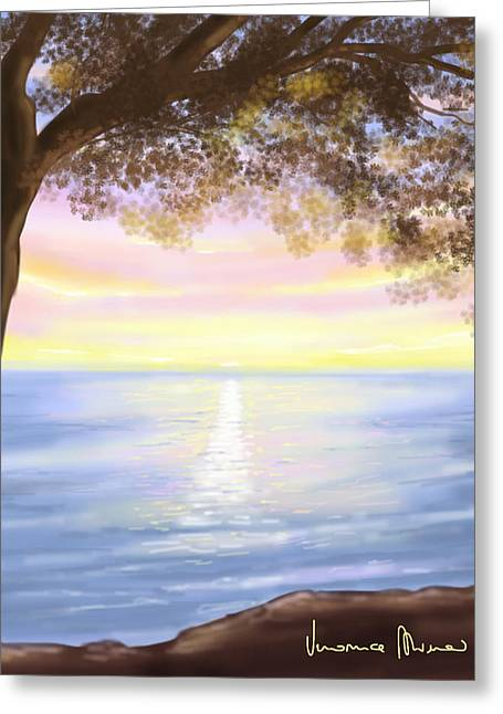 Sunrise Greeting Cards - Sunrise Greeting Card by Veronica Minozzi