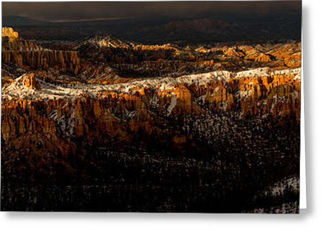 Southern Utah Greeting Cards - Suns Last Rays Greeting Card by TL  Mair