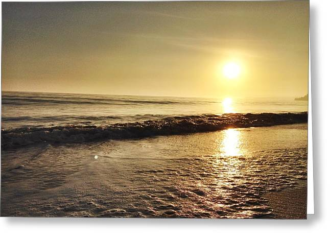 Coast Highway One Greeting Cards - Sunset 2 Greeting Card by Sarah  Lindsay