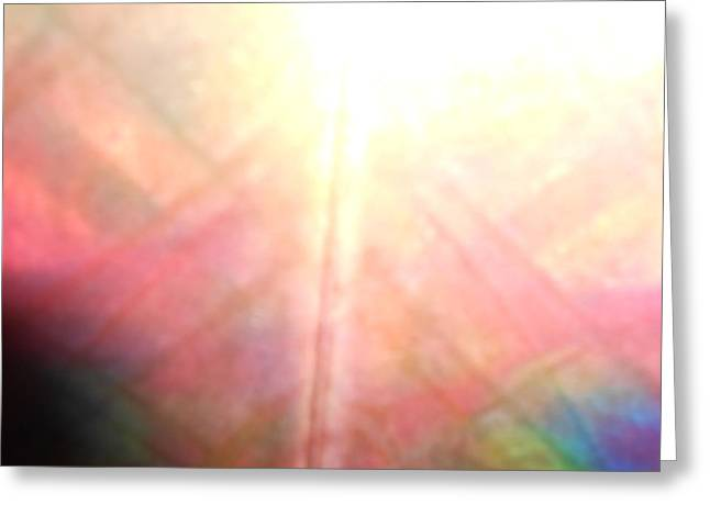 Shine Tapestries - Textiles Greeting Cards - Sunset After The Rain Greeting Card by Carrie  Ray