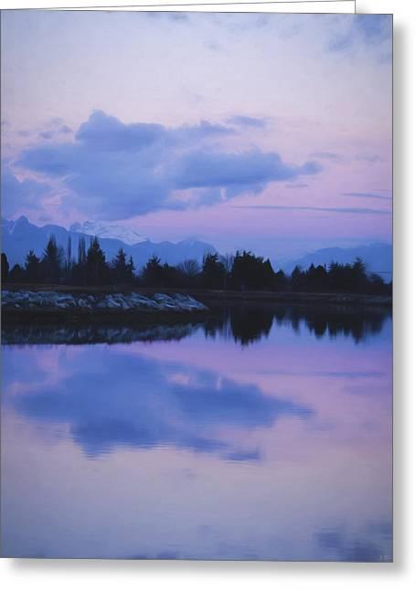 Sailboat Images Greeting Cards - Sunset Art - Natures Painting Greeting Card by Jordan Blackstone