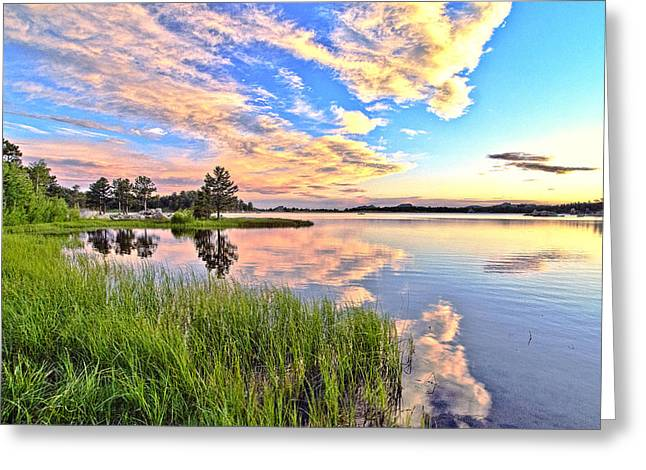 Colorado Mountain Greeting Cards Greeting Cards - Sunset At Dowdy Lake Greeting Card by James Steele