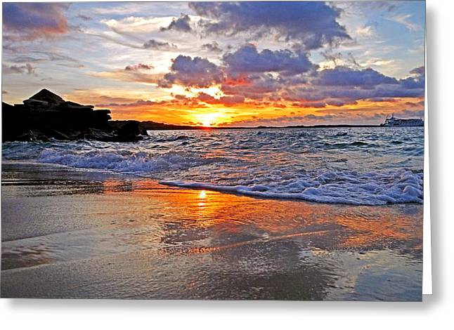 Get Well Card Framed Prints Greeting Cards - Sunset at Kimberlys Greeting Card by Casey Herbert