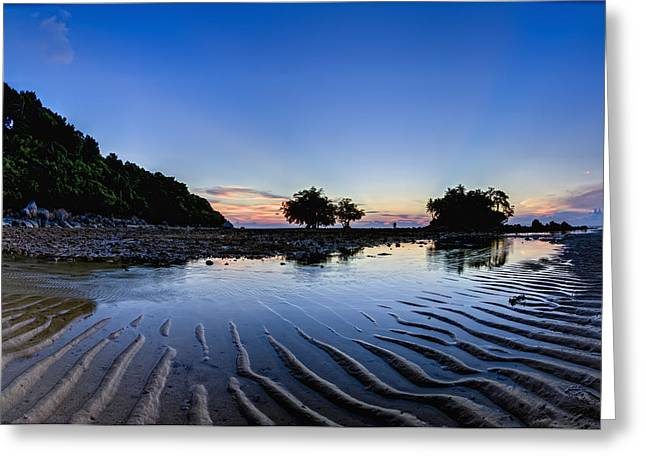 Yang Greeting Cards - Sunset At Nai Yang Beach Phuket Thailand Greeting Card by Stuart Corlett