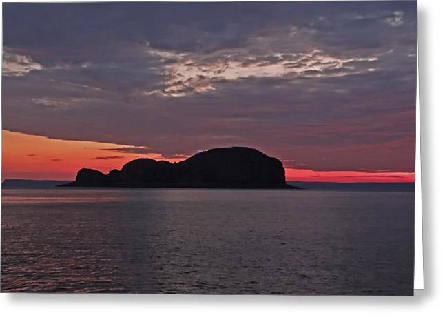 Get Well Card Framed Prints Greeting Cards - Sunset at Raft Point Greeting Card by Casey Herbert