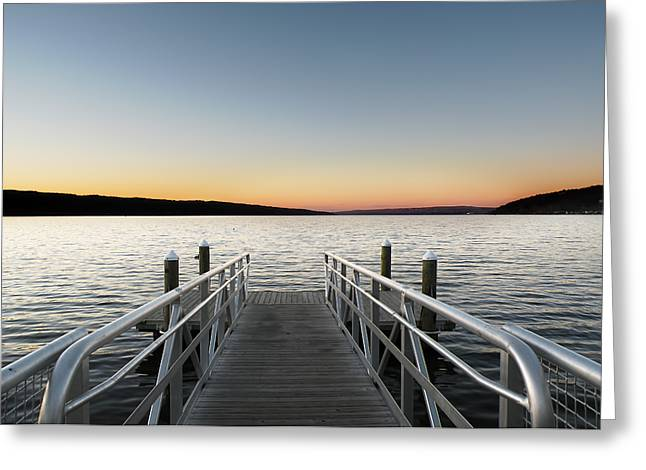 Recently Sold -  - Ithaca Greeting Cards - Sunset at Stewart Park Greeting Card by Steven  Michael